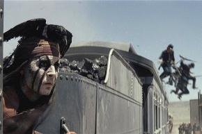 Johnny Depp in The Lone Ranger
