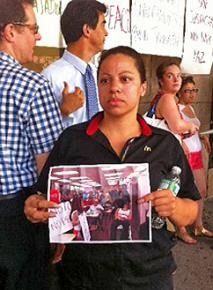 Workers at a Manhattan McDonald's in Washington Heights walked out over dangerous working conditions