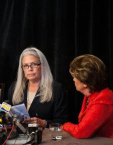 Irene McCormack Jackson details sexual harassment by San Diego Mayor Bob Filner