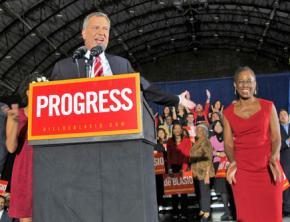 New York City's new Mayor Bill de Blasio