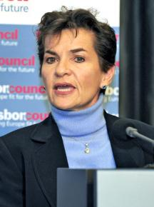Christiana Figueres, head of the UN Framework Convention on Climate Change