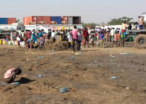 Refugees flee the intensifying violence in South Sudan