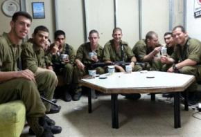 This picture of Israeli soldiers was featured on the Facebook page of the Ben & Jerry's franchise in Israel