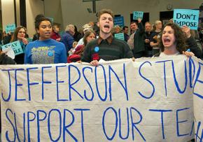 Portland students send a loud-and-clear message in support of teachers