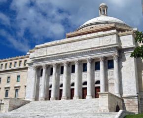 The Puerto Rico Capitol building