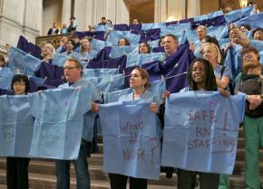 San Francisco nurses protest short-staffing in California hospitals