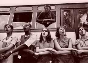 Civil rights activists during Freedom Summer in Mississippi