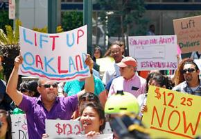 Oakland residents rally for the Lift Up Oakland referendum