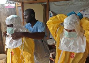Volunteer health workers in Guinea