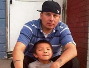 Allen Locke, murdered by police days after attending a Native Lives Matter protest in Rapid City