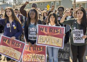 Standing up against racism in Madison, Wisconsin