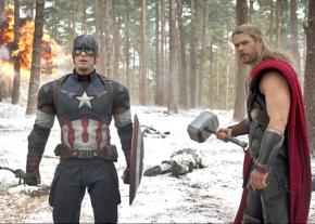Superheroes at work in Avengers: Age of Ultron