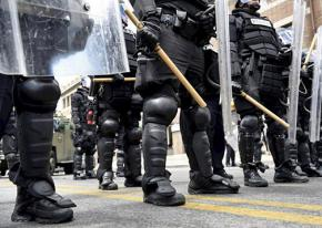 Baltimore riot police prepare for demonstrations