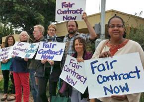 Oakland teachers rally for a fair contract