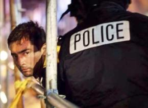 Jorge Torres being arrested by Seattle police