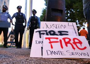 Activists gather monthly at police board hearings to call for justice