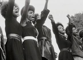 One of the many photos used in The Black Panthers: Vanguard of the Revolution