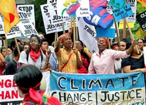 On the march for climate justice in New York City