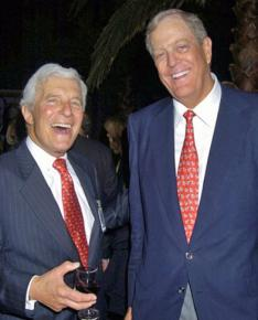 Multibillionaires Charles (left) and David Koch