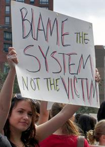 Protesting sexual violence and victim-blaming in New York City