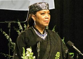 Attallah Shabazz pays tribute to Muhammad Ali