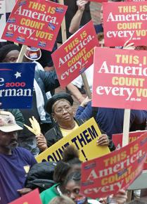 Thousands took to the streets in Florida to demand that every vote be counted