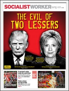 Socialist Worker print issue #792 cover image.