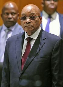 President Jacob Zuma of the African National Congress