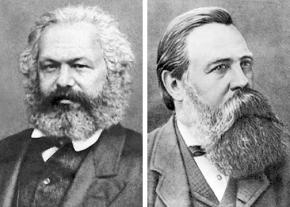 Karl Marx and Frederick Engels