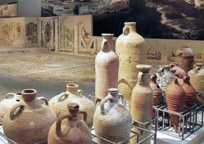 A gallery in the Museum of Byzantine Culture