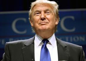 Republican presidential candidate, Donald Trump