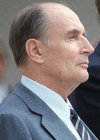 Former French President François Mitterrand
