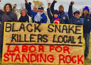 Labor activists organize to build the resistance at Standing Rock