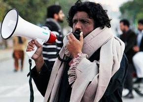 Pakistani activist and writer Salman Haider