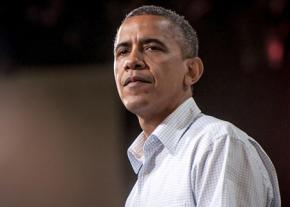 President Obama on the campaign trail