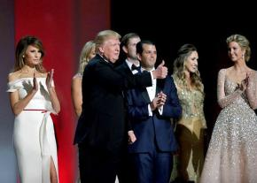 Donald Trump and the insufferable first family