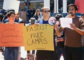 Speaking out against the far right and threats to free speech at UC Berkeley