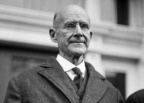 Eugene Debs visits Washington, D.C., after his release from prison