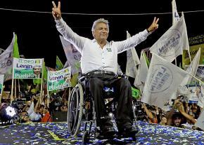 Ecuadorian President Lenín Moreno