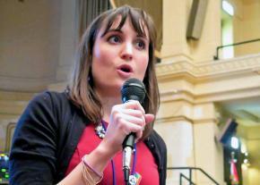 Chicago teacher Sarah Chambers
