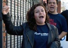 Immigrant rights activist Claudia Rueda