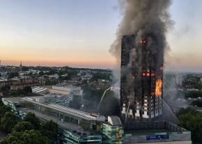 A deadly inferno consumes Grenfell Tower in London