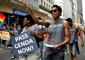 New Yorkers march for the Gender Expression Non-Discrimination Act