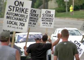 Chicago mechanics remain on the picket line