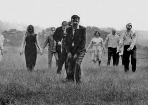 Zombies on the hunt in Night of the Living Dead