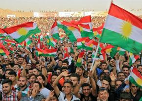 Thousands demonstrate for Kurdish independence in Kirkuk