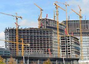 The Koza Park construction site in Istanbul