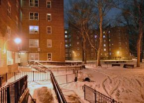 The Woodside Houses in Queens went without heat during the bomb cyclone