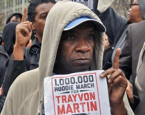 Thousands demonstrated to demand justice for Trayvon Martin in New York City