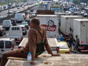 Truck drivers have blockaded traffic across Brazil